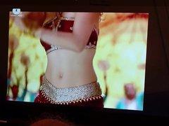 Rakul Preet vidz Singh Cum  super Tribute #1 With Oiled Dick