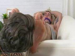 Male physical vidz examination feet  super gay