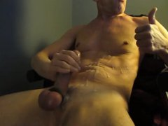 Hard cock vidz stroking makes  super the cum shoot out 4