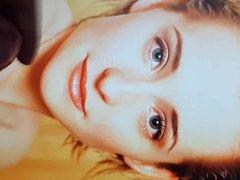 Facial Cumshot vidz Tribute for  super Allison Mack #2