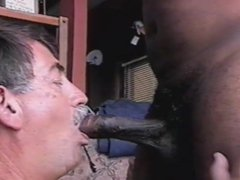 COCKSUCKER4BLACK taking vidz my FIRST  super BLACK COCK AND CUM...