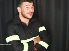 Fireman tests vidz more than  super your smoke alarm