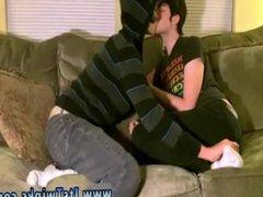 Sexy horny vidz gay men  super kissing xxx Aron seems