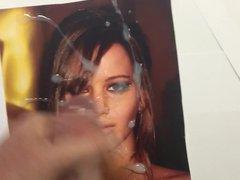 Cum Tribute vidz - Jennifer  super Lawrence