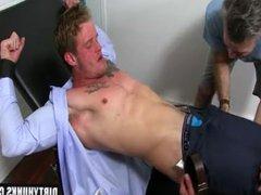 Muscle gay vidz foot and  super cumshot