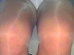 crossdresser pantyhose vidz legs blue  super mini 021