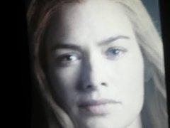 Lena Headey vidz cum tribute  super 5