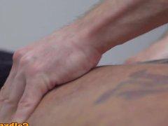 Naughty masseur vidz ass drilled  super by muscular hunk