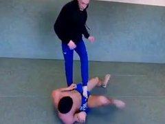 Russian heavy vidz trampling