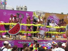 Gay Pride vidz Tel-Aviv 2016