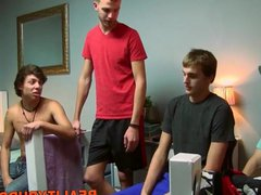 Horny dude vidz gets it  super deep in his asshole from his dorm buddy