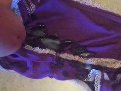 Filling wife's vidz panties
