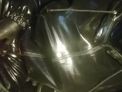 RUBBERED GLOVE vidz PUPPET DOING  super ITS WORKOUT