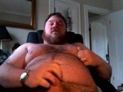 Hairy Bear vidz Cums