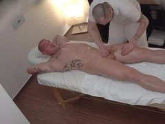 Young Straight vidz Guy Gets  super Anal Fuck on Massage Table