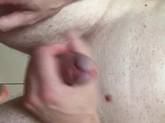 Using a vidz paint roller  super on my cock and cumming twice