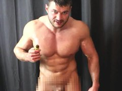 Using Poppers vidz With Breath  super Control And Baby Oil