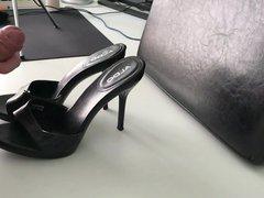 ALDO heels vidz cumshot