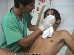 Gay doctors vidz naked and  super gay visit doctor cum