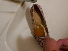 Piss in vidz stiletto high  super heel