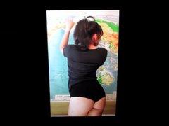 Youtuber Nikki vidz Limo's ass  super cum tribute 3