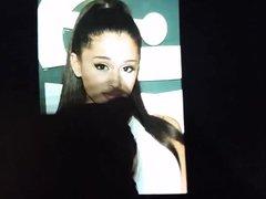 Ariana Grande vidz BIRTHDAY Cum  super Tribute (1)