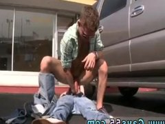 Gay teen vidz fuck in  super bathroom stories Empty Lot