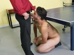 Cums swallows vidz gay CPR  super sausage throating and