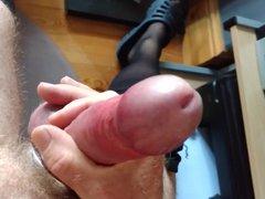 Stroking and vidz cuming
