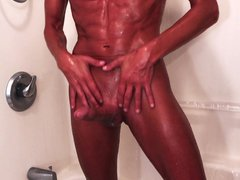 Creamy Shower vidz & Dildo  super Fuck