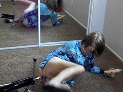 Jennifer's anal vidz DP