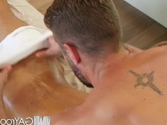 GayRoom Tight vidz ass massage  super fuck with Angel Duran and Wesley Woods