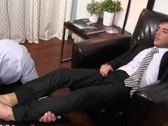 Business man vidz enjoy feet  super fetish at home