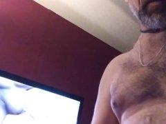 7 14 vidz 17 Second  super cum in a row watching porn again