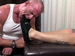 Two hot vidz dudes enjoy  super toe sucking time
