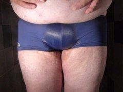Wetting my vidz tight shorts