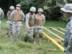 Boy military vidz nude training  super gay Jungle tear