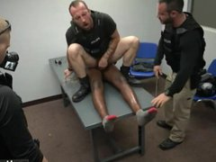 Black cops vidz with big  super bulges gay Prostitution