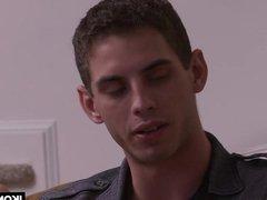 Calvin Banks vidz seduces older  super man Max Sargent