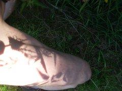 Nackt im vidz Park und  super geil abgespritzt... (9.7.2017)
