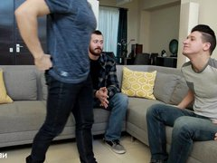 NextDoorRaw Watcher vidz Joins in  super Couples Bareback!