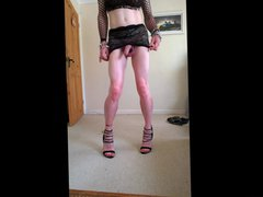 Sexy new vidz lace skirt  super a bit seethrough