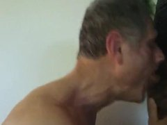 Face fucking vidz daddy and  super cumming down his throat