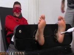Mens feet vidz while fucking  super gay Kenny Tickled