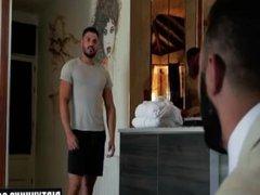 Muscle gay vidz fetish and  super cumshot