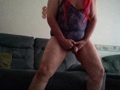 Naughty maid vidz stripping