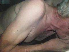 NOT my vidz Dad 3  super Blowjob and Masturbation in his Car
