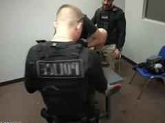 Naked police vidz men cock  super jerkin off hot