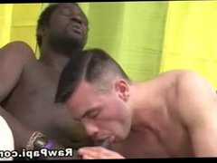 Interracial Gay vidz Sex