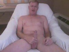 daddy strokes vidz his cock